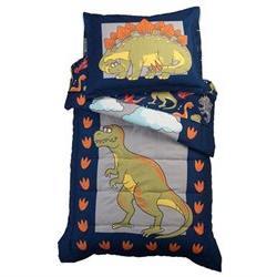 KidKraft Toddler Bedding, 4-Piece Set - Dinosaur