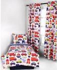 Bacati- 4pc Toddler Bedding Set 100% Cotton Percale, Transpo