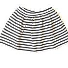 Kate Spade Toddler Girls Coreen Skirt Sz 5 Y Black Cream Str