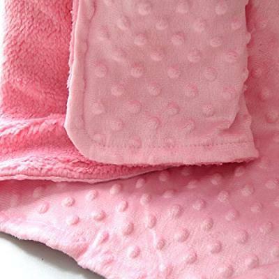 Toddler Soft Minky Dot- Crib