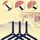 4X Triangle Bed Mattress Sheet Tablecloth Clip Corner Straps