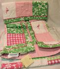 Tropical Baby Crib Quilt Embroidered Pottery Barn Kelly Flam