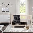babyletto Tuxedo Monochrome Nursery 5 Piece Crib Bedding Set