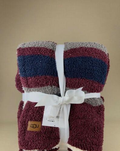 ugg soft fuzzy throw blanket new set