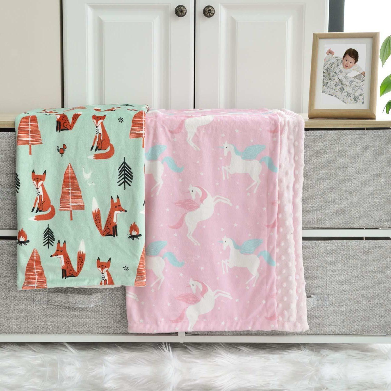 Boritar for Girls with Double 30x40 Pink