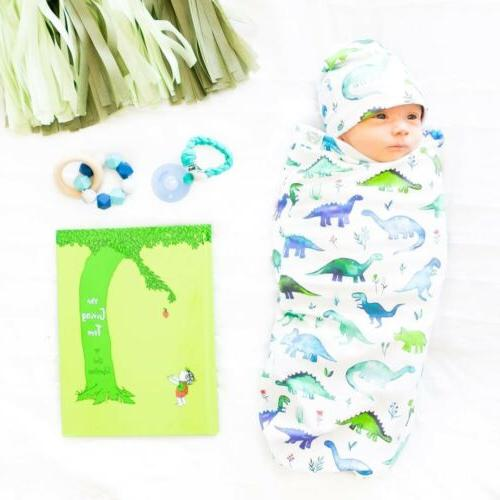 Baby Girl Swaddle Wrap Toddler Hat
