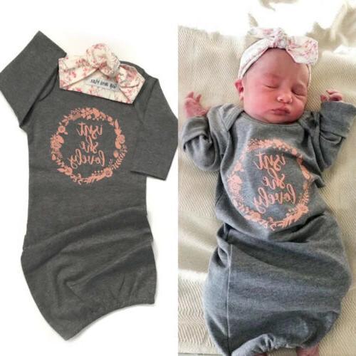 us 100 percent cotton newborn baby girl