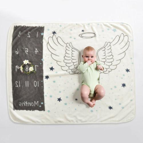 US Newborn Baby Boy Milestone Photography Photo Backdrop