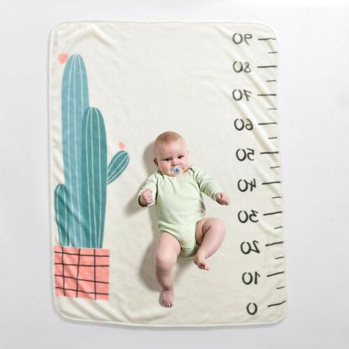 US Newborn Baby Boy Blanket Photography Photo Backdrop