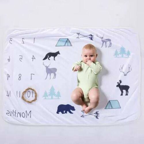 US Newborn Boy Blanket Photography Photo