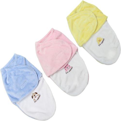 US Newborn Baby Infant Swaddle Blanket