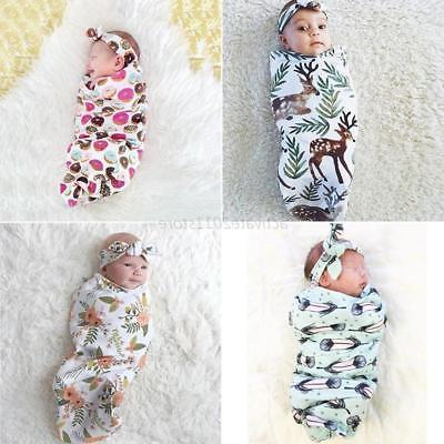 us newborn infant baby kids swaddle cocoon
