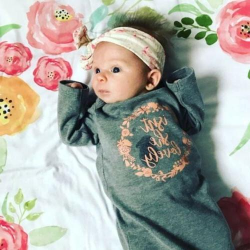 US 100% Newborn Baby Sleeping Wrap 2Pcs