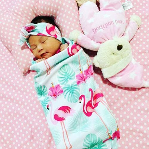 US Stock Baby Wrap Sleeping Headband