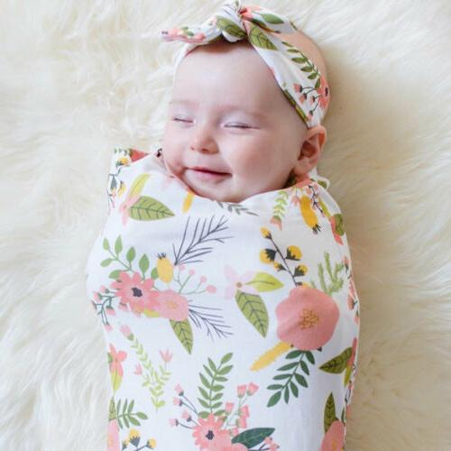 Cotton Baby Infant Newborn Wrap Sleeping Cloth