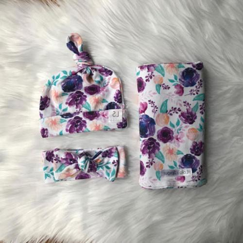 USA Wrap Blanket Floral Towel