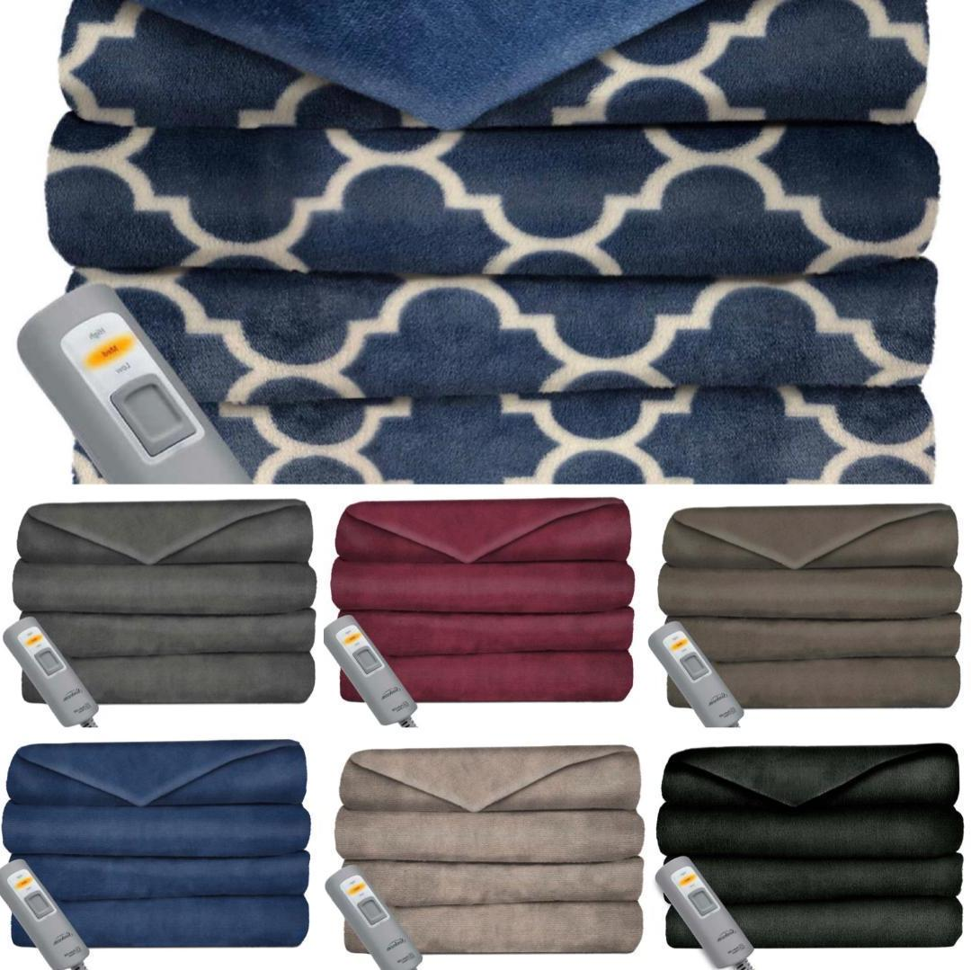 Heated Throw No Tax ~ Shipping