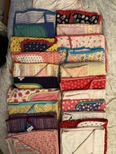 vintage blanket crown prints