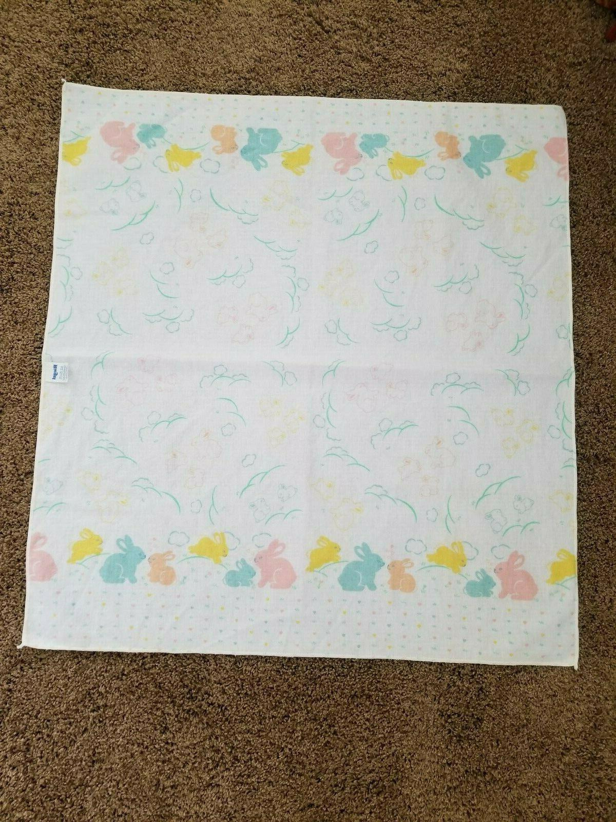 """Vintage Riegel Baby Receiving """"NEW"""" Flannel Cotton"""