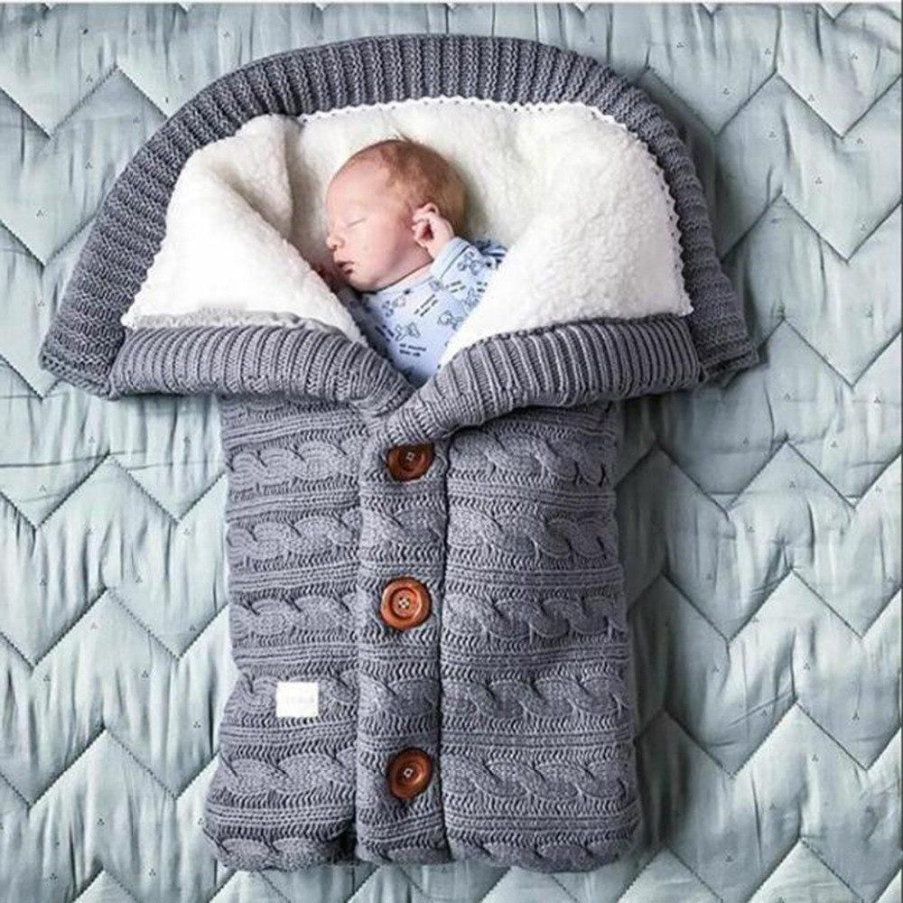 Warm <font><b>Baby</b></font> <font><b>Blanket</b></font> <font><b>Baby</b></font> Footmuff Cotton Envelope Newborn Swadding Wrap Stroller Sleepsacks