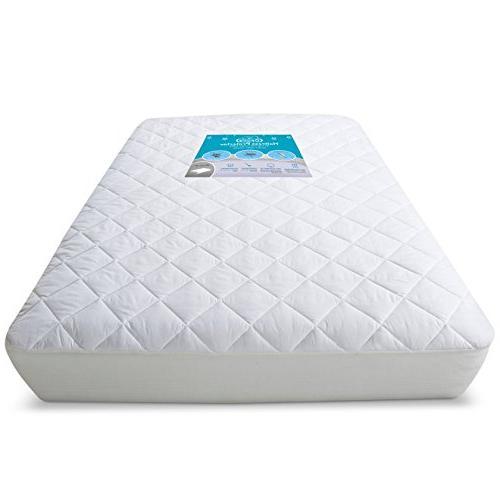waterproof crib mattress protector hypoallergenic