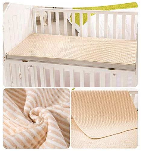 Mattress Protector Pads 4 Protective Sheets for Infants Size