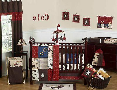wild west crib set