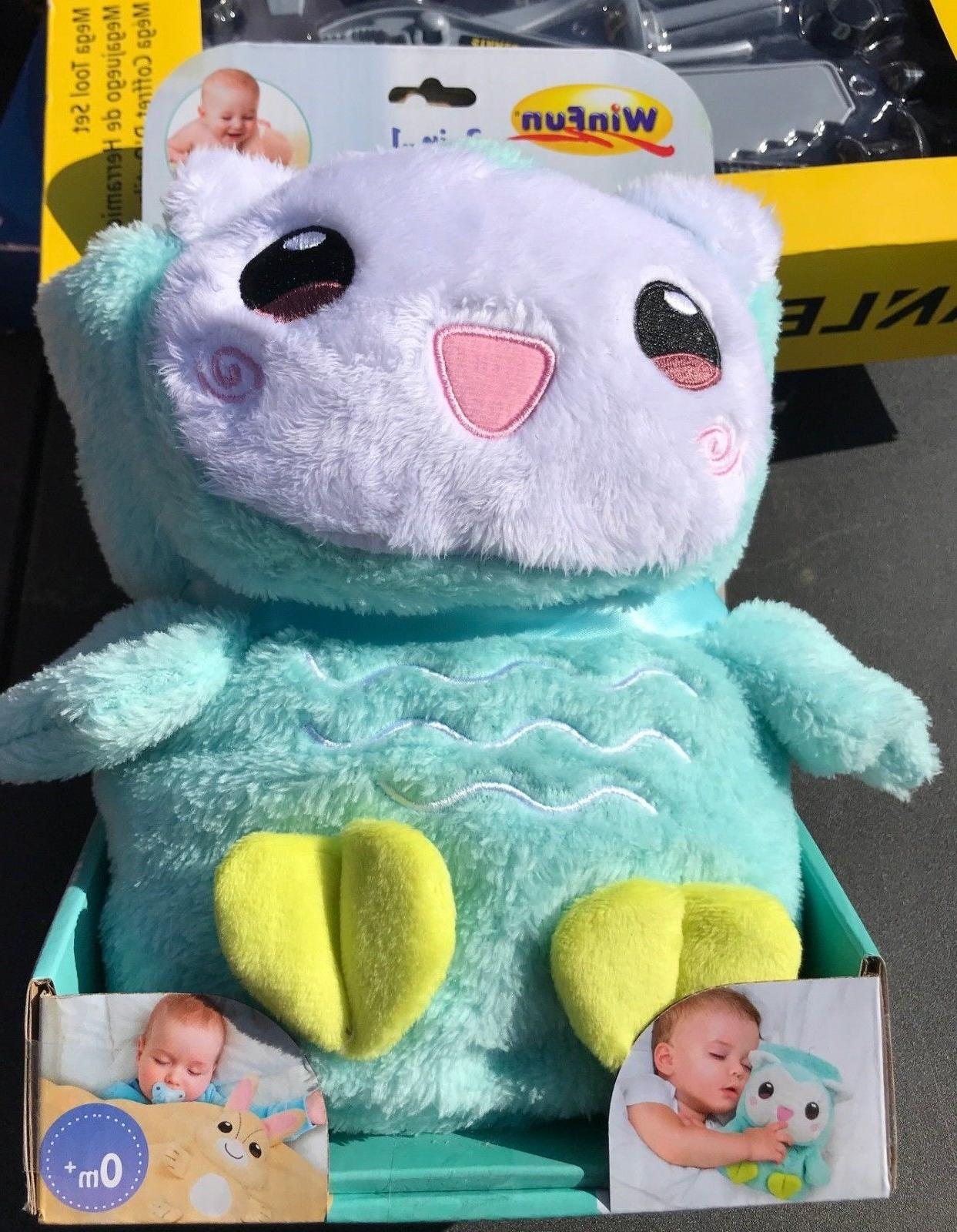 WIN FUN 3 IN 1 BABY PAL BLANKET OWL PLUSH TOY SOFT BLANKET a