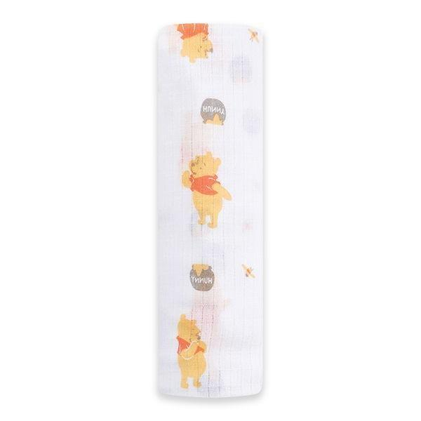 Winnie the Pooh Swaddle Blanket Baby Girl Anais Disney