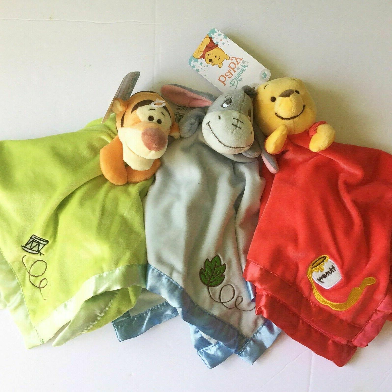 Disney Winnie Pooh Blanket Eeyore Soft