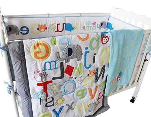 wm crib bedding set