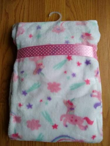 ZAK & ZOEY Blanket Infant Soft NEW NWT