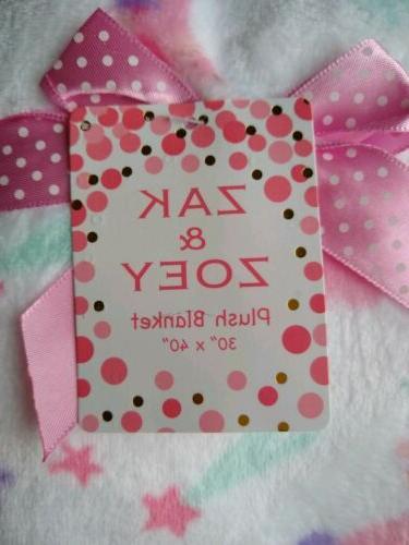 ZAK Blanket Infant Lovey Soft NWT
