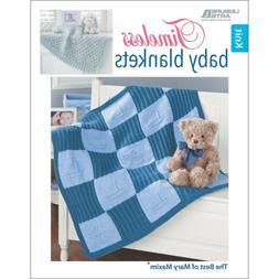 Leisure Arts LA-7110 -Timeless Baby Blankets-Mary Maxim