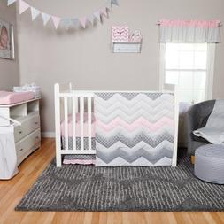 Trend LabCotton Candy Chevron 3 Piece Crib Bedding Set