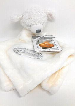 Blankets and Beyond - Christening Gift 9m White Lamb ~ Bless