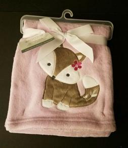 LAMBS & IVY BEDTIME ORIGINALS Baby Blanket Lavender Woods Fo