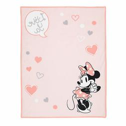 Lambs & Ivy Disney Baby MINNIE MOUSE Picture Perfect Pink Sh