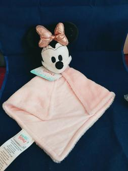 Lambs & Ivy Disney Baby MINNIE MOUSE Lovey Pink/White Plush