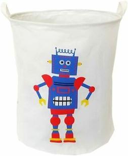 Laundry Bag Hamper Clothes Storage Basket Baby Kids Toy Bin