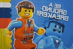Lego The Movie  Standard Size Boys Girls Kids Bedding