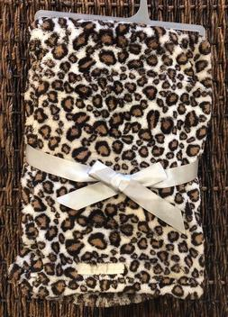 Blankets and Beyond Leopard Animal Print Baby Blanket