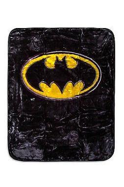 Licensed DC Batman Emblem Luxury Royal Plush Baby Size Size