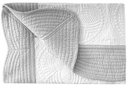 ASHOPZ Lightweight All Weather Embossed Detail Cotton Quilt