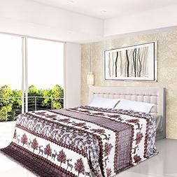 JML Lightweight Breathable All-Season Flannel Throw Blanket,