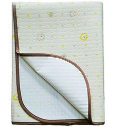 JoJobebe Lion Mini Waterproof Sheet Protector for babys, Por