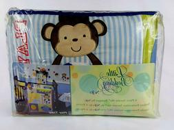 Little Bedding By NoJo 4 Piece Secure Me Bumper Crib Bedding