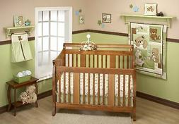 Little Bedding by NoJo Dreamland Teddy Uni 10 Piece Crib Bedding Set
