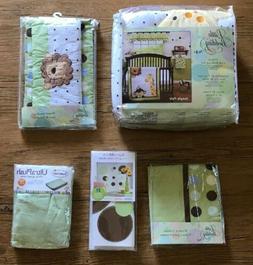 Little Bedding by NoJo Jungle Pals Crib Set Diaper Stacker V