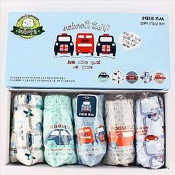 Little Boys' Kids Cotton Underwear Car Vehicles Toddler Brie